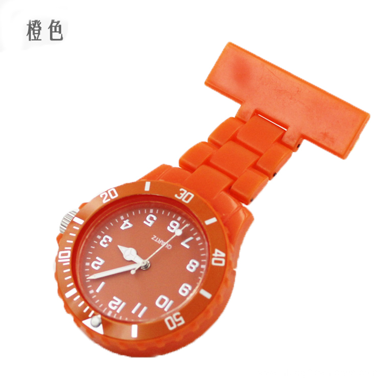 New Design Useful Nurse Silicone Brooch Pocket Watch