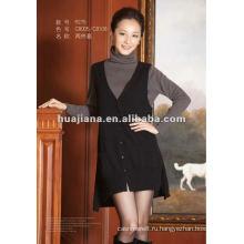 стильный женский Кашемировый свитер платья для женщин twinset
