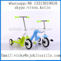 three wheel self balancing kids foot kick scooter 3 in1child kids toys