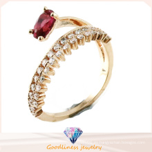 Venta al por mayor Joyería Eropean & American estilo de diseño de joyería de moda 925 anillo de plata esterlina (R10417)
