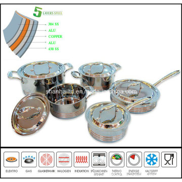 5 Ply Composites Material Cookware Set Sc159