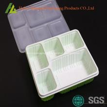 Contenants en plastique bento à 5 compartiments
