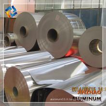 Bobine d'aluminium très fine en alliage de 8 000 degrés 8011 avec prix de revient