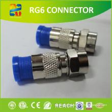 Hot Selling cabo coaxial f conector à prova d'água com preço de fábrica