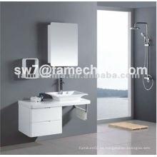 Gabinete de baño caliente del lavabo del cubo de la taza del diseño
