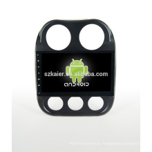 Четырехъядерный! Андроид 4.4/5.1 автомобильный DVD для джип Compass с 10,1-дюймовый емкостный экран/ сигнал/зеркало ссылку/видеорегистратор/ТМЗ/obd2 кабель/беспроводной интернет/4G с