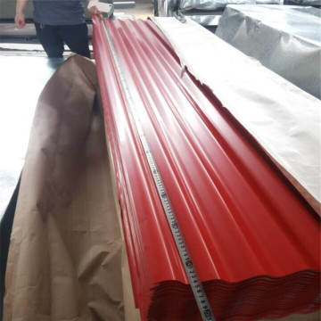 Color Corrugated Galvanized Steel Sheet