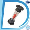 O quadrado acrílico ajusta o medidor de fluxo do painel do gás / ar / oxigênio com bom Rotameter da válvula