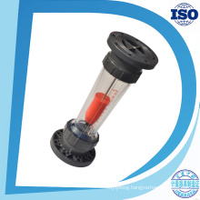 Flange Connection Big Size Mass Flow Range Plastic Rotameter