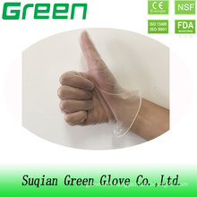 Food Grade Service Vinyl Glove for The Kitchen Restaurant