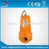 380/50hz three phase WQK sewage cutting submersible water pump