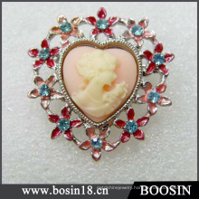 Vintage Cheap But Elegant Cameo Brooch China Wholesale #5391