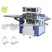 Máquina para fabricar bolsas automática bucle suave