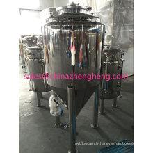 Acier inoxydable Fertilisateur conique et réservoir de fermentation