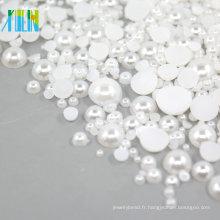 Demi Perles en Plastique 2mm FP03