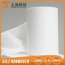 tela no tejida spunlace para toallitas húmedas