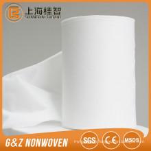 tissu non-tissé spunlace pour lingettes humides