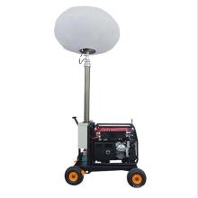 Дешевый ручной толчок мини воздушный шар светлая башня