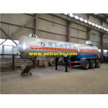 24 CBM Tri-axle Sulphur Dioxide xe tăng xe tăng