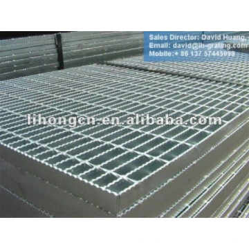 zinc coated metal grating
