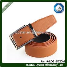 Boucle à fourreau en cuir véritable décontracté pour homme Chaussure / hommes cintos de cuir