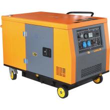 Gerador diesel silencioso super com ATS 10gf-S (10KW)