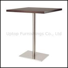 Mesa de madera rectangular superior de la barra para cuatro personas (SP-BT654)