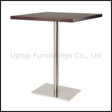 Table de bar rectangulaire en bois pour quatre personnes (SP-BT654)