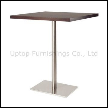 Wooden Top Rectangle Bar Table for Four People (SP-BT654)