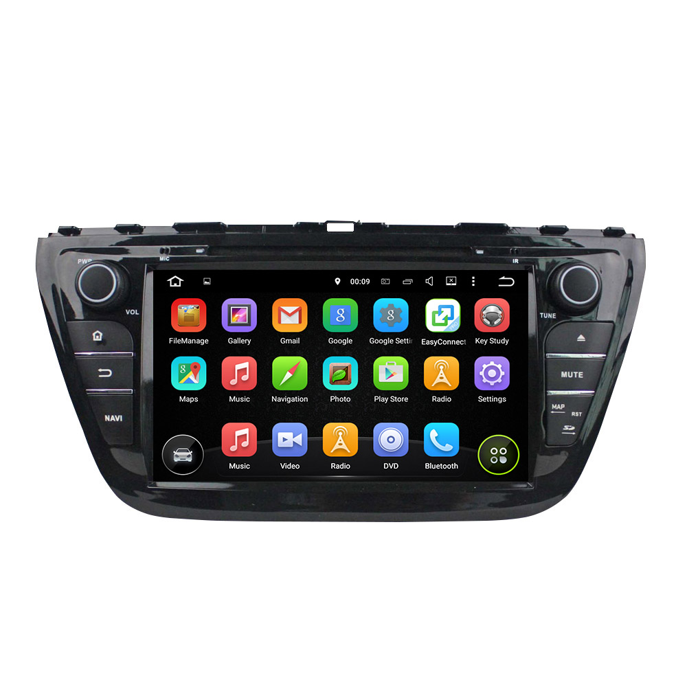 Android 5.1.1 car DVD player for Suzuki SX4 2014
