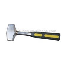 forgé marteau lapidation avec solide forgée en une seule pièce poignée