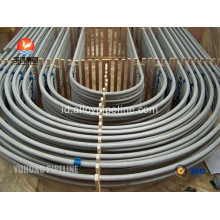 Stainless Steel U Bend tabung ASTM A213 TP321 TP321H TP347 TP347H untuk Heat Exchanger