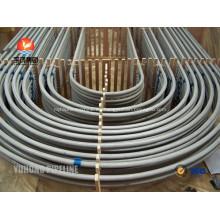 Curva de acero inoxidable U tubo ASTM A213 TP321 TP347 TP321H TP347H para intercambiador de calor