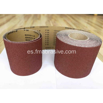 X-wt Cloth Aluminium Oxide Hard Cloth Uso de la mano
