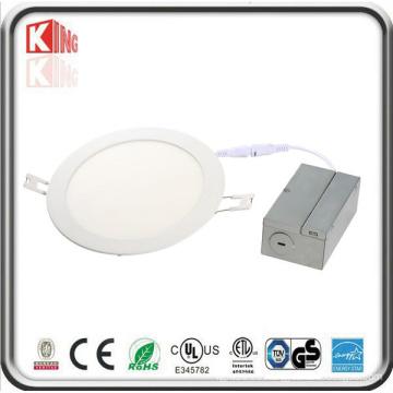 Energy Star - Lámpara de panel LED redondeada, delgada y delgada, de 4 pulgadas con caja de conexiones