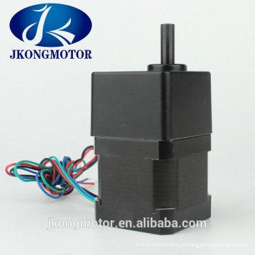 Motor de escalonamiento común de la caja de cambios de 42m m (NEMA17) 4.4kg.cm con precio de fábrica y de alta calidad