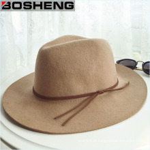 Promoção Moda Vintage Western World Wool Cowboy Hat