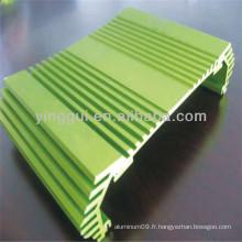 Profilé en alliage d'aluminium 7178