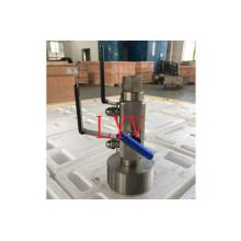 Válvula de bola Dbb de acero inoxidable con certificado API Ce ISO