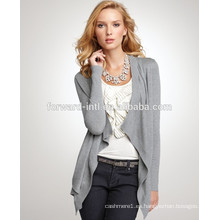 2017 diseño de moda 12gg ladies 100% cardigan de cachemira