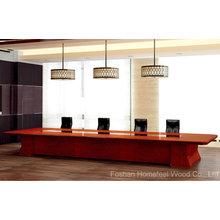 Modern Wooden Conference Boardroom Meeting Table (HF-Ltd128)