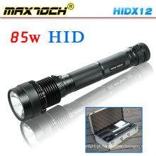 Maxtoch HIDX12 6600mAh Bateria 85W HID Lanterna