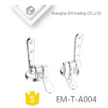 EM-T-A004 polimento latão macio assento do assento do vaso sanitário dobradiças louças sanitárias