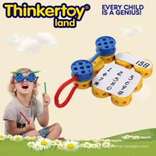 Brinquedos Educativos DIY 3D EVA Puzzle Brinquedos Plásticos