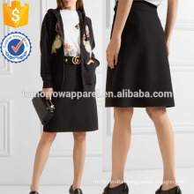 Wool and Silk-blend Skirt Manufacture Wholesale Fashion Women Apparel (TA3037S)