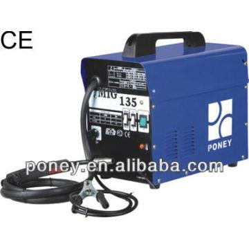 CE DC gas & no gas mig 230v 100/120 / 150A modèle B / machine industrielle / machine à souder portable à bas prix / pour soudure