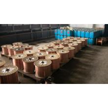 Fil en acier plaqué de cuivre (CCS) 21% de haute qualité
