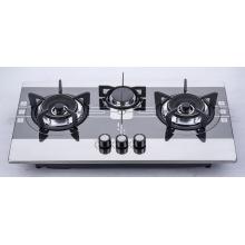 Table de cuisson à gaz à trois brûleurs (SZ-LW-105)