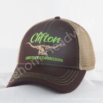Nouveaux chapeaux de camionnettes à la broderie structurée