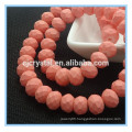 New colors 8*6mm rondelle glass beads, bead treasure